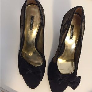 Shoes and Matching Clutch! Like new, used once!
